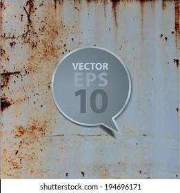 Vector metal texture background template design