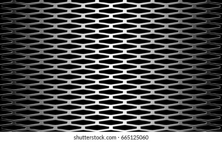 vector metallic seamless pattern background. Elegant luxury style