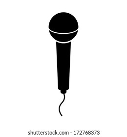 Vector microphone icons