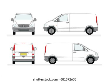 vector minibus for passenger and cargo transportation