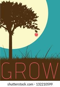 Vector Minimal Design - Grow