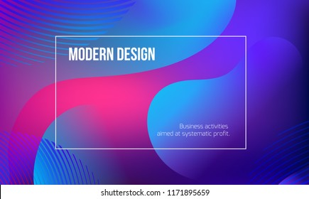 vector minimalistic colorful background. bright trend colors Creative design graphics for posters, sites, printing. Vector line gradient halftone. frame for text Modern Art graphics.