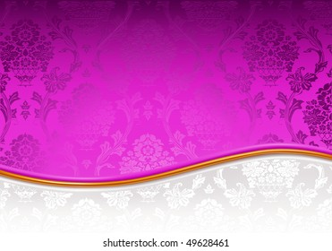 Vector Mix backgrounds, violet and white