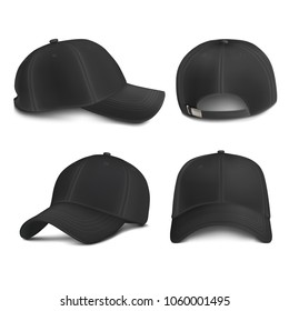 Vector Mock-up Black City Cap Set