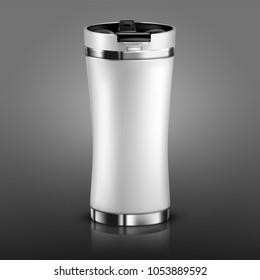 Arte VectoresImágenes Y Stock De Vectorial Thermos Sobre Mug F1T5lJcuK3