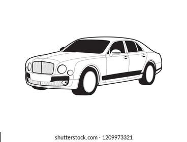 Luxury Car Bentley Stock Vectors Images Vector Art Shutterstock