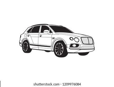 Bentley Grill Stock Vectors Images Vector Art Shutterstock