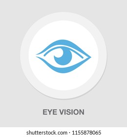 Vector of modern abstract background. Digital vision - vector logo template concept illustration. Abstract human eye creative sign. Security technology and surveillance. Design element
