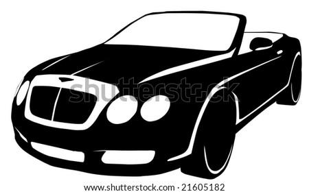 Vector Modern Automobile Stock Vector Royalty Free 21605182