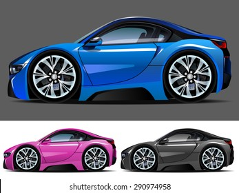 Royalty Free Sport Car Cartoon Stock Images Photos Vectors