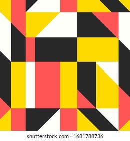 vector modern geometric seamless pattern