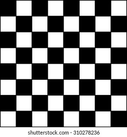 Vector Modern Pattern Checkered Black And White Textile Print Chess Abstract Texture Monochrome