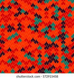 Vector modern seamless geometry tessellation pattern, abstract geometric background, pillow print, retro texture, fashion design