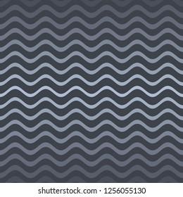 Vector modern seamless gradient wavy line website pattern
