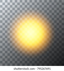 Vector modern sun background. sunshine design. Eps10