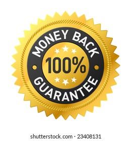 Vector money back label
