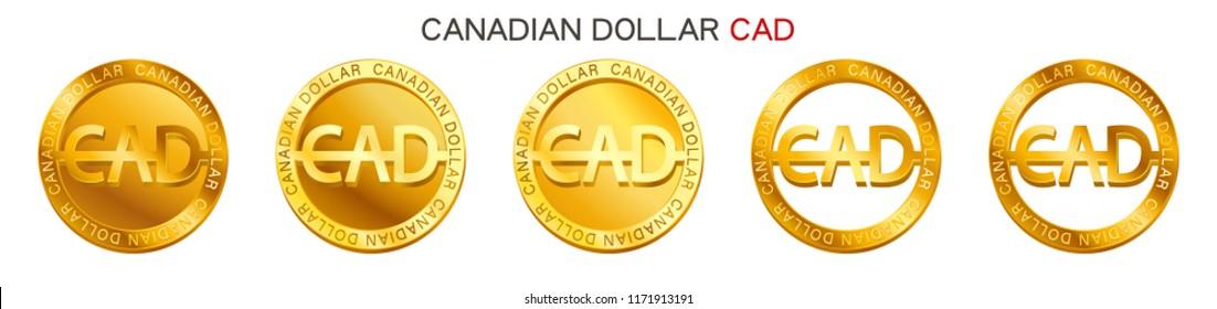 Vector Money Canadian Dollar Sign Canadian Stock Vector Royalty