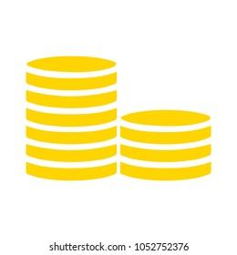 vector money coins icon