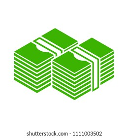 vector money icon. dollar money cash - dollar currency sign symbol