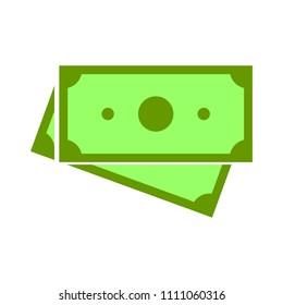 vector money icon. dollar money cash