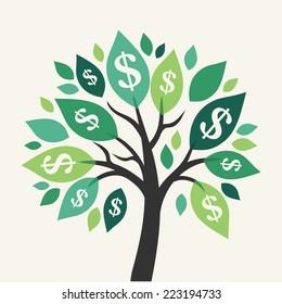 money tree images stock photos vectors shutterstock rh shutterstock com Funny Money Clip Art People with Money Clip Art