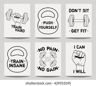 Imágenes Fotos De Stock Y Vectores Sobre Frases Fitness