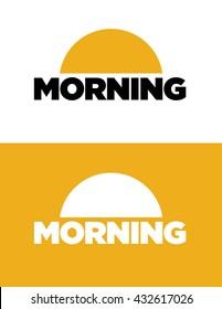Vector Morning Icon