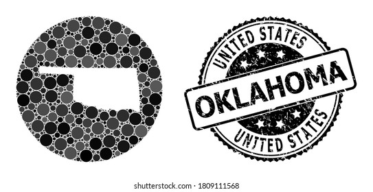 Oklahoma State Seal Images Stock Photos Vectors Shutterstock