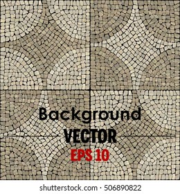Vector mosaic texture.