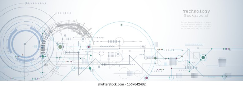 Vector motherboard or circuit board on white background. Illustration computer hardware, integrated circuit system design. Abstract hi-tech futuristic, digital engineering, science technology concept