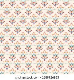 Vector Motif Prints. Background Designs.