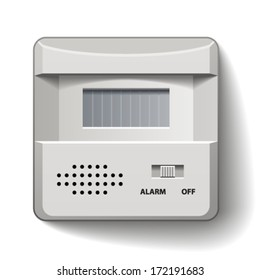 vector motion detector infrared alarm