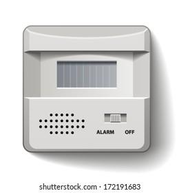 vector motion detector infrared alarm