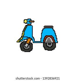 Pixel Art Moto Images Stock Photos Vectors Shutterstock