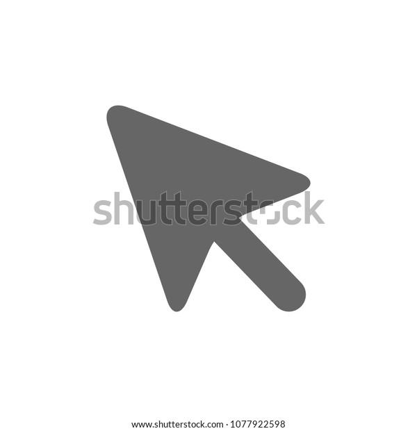Vector Mouse Cursor Symbol Arrow Click Stock Vector (Royalty Free