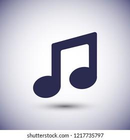 Vector music Icon vector