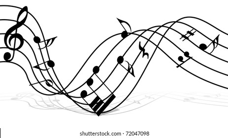 Music Staff Images Stock Photos Vectors