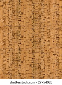 VECTOR. Natural cork seamless pattern. Lot of details (duplicating artwork can slow down your computer)!