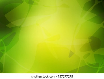 Vector natural elegant pattern. Childish elegant natural pattern with gradient. A completely new design for your business.
