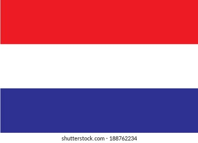 Vector of Netherlands Flag