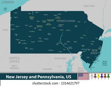 Imágenes, fotos de stock y vectores sobre United States East ...