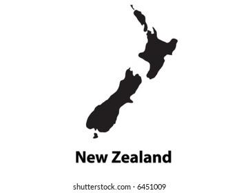 Vector of New Zealand