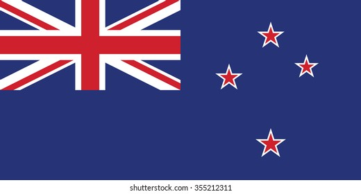 Vector of New Zealand flag.