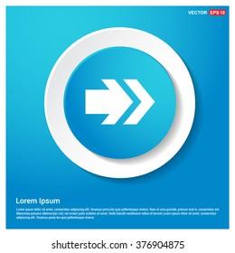 Vector Next arrow icon. Vector arrow icon