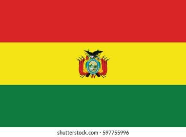 Vector of nice Bolivia flag.