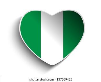 Nigeria Flag Button Images, Stock Photos & Vectors | ShutterstockShutterstock