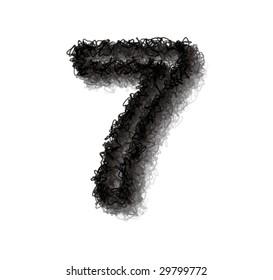 vector number seven
