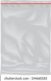 Vector nylon bag illustration