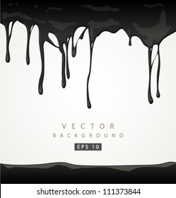 Vector oil background