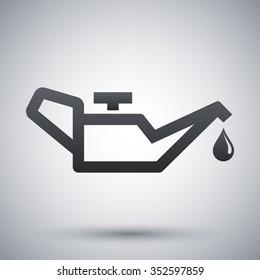 Vector oiler icon
